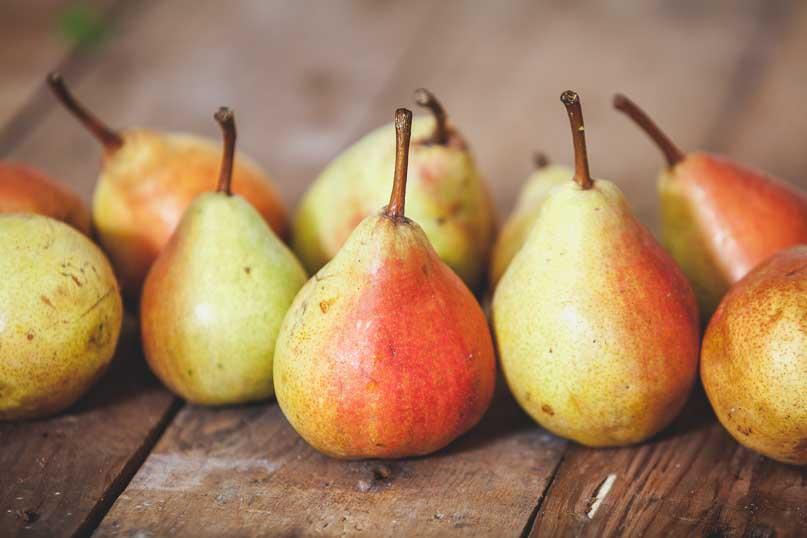 peras variedades